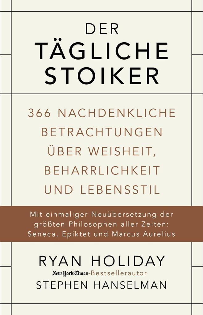Der tägliche Stoiker als eBook epub