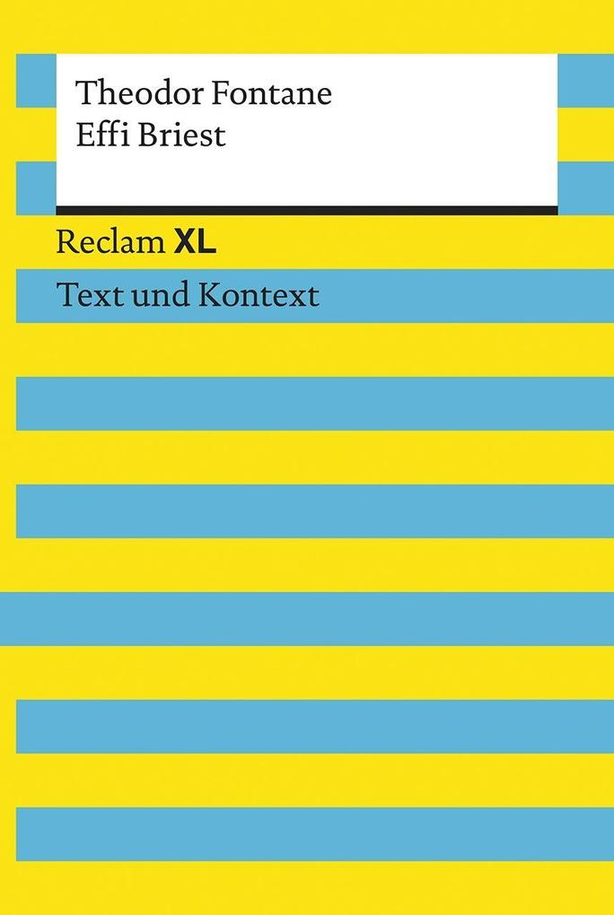 Effi Briest. Textausgabe mit Kommentar und Materialien als Taschenbuch