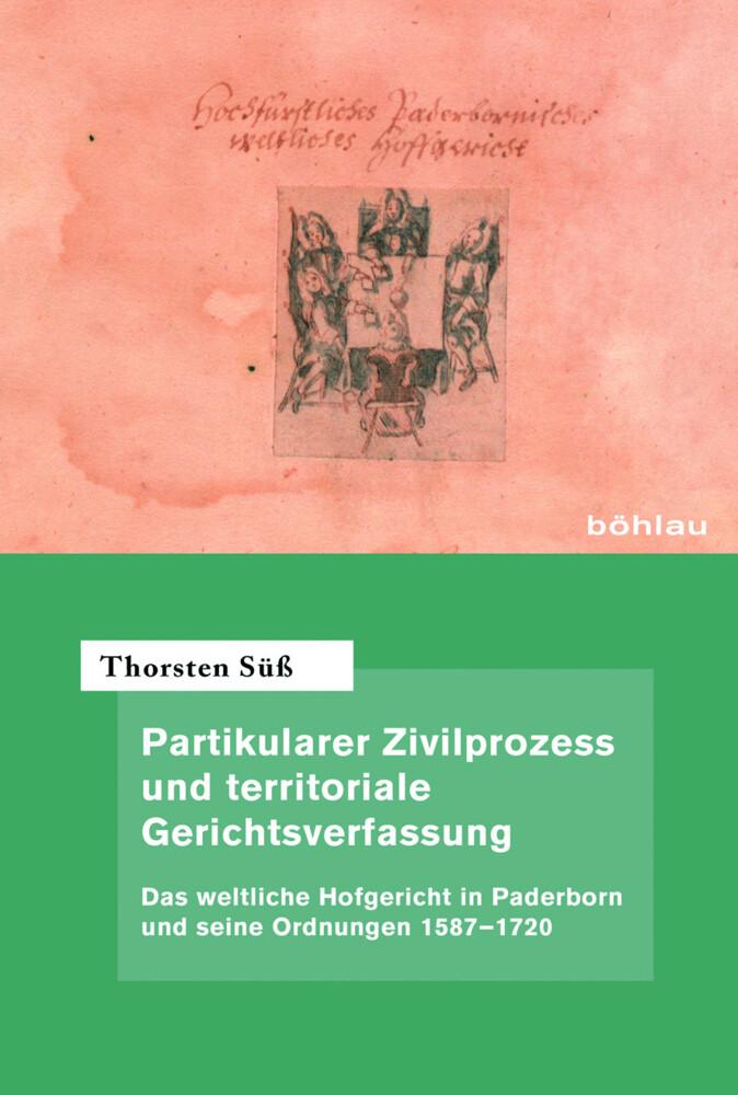 Partikularer Zivilprozess und territoriale Gerichtsverfassung als Buch (gebunden)