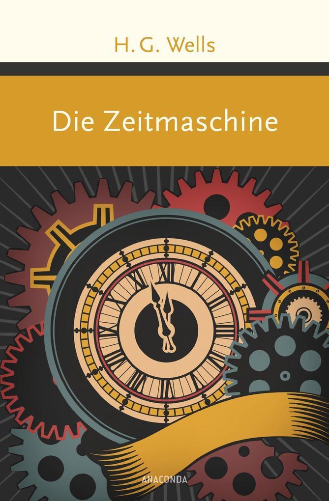 Die Zeitmaschine als Buch (gebunden)