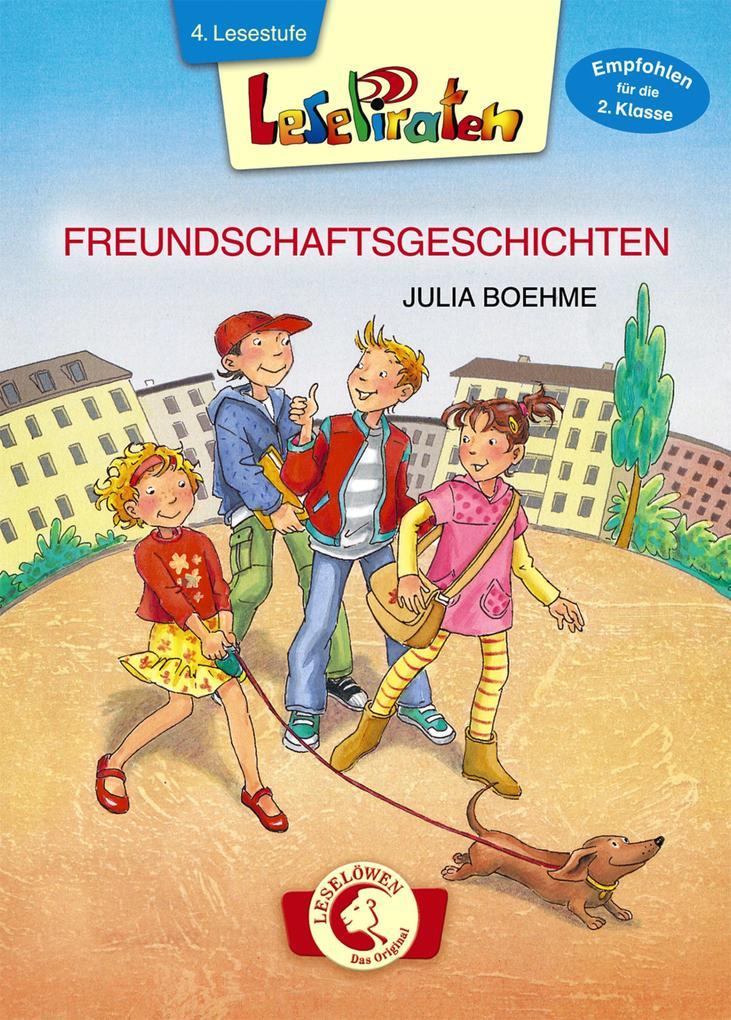 Lesepiraten - Freundschaftsgeschichten als Buch (gebunden)