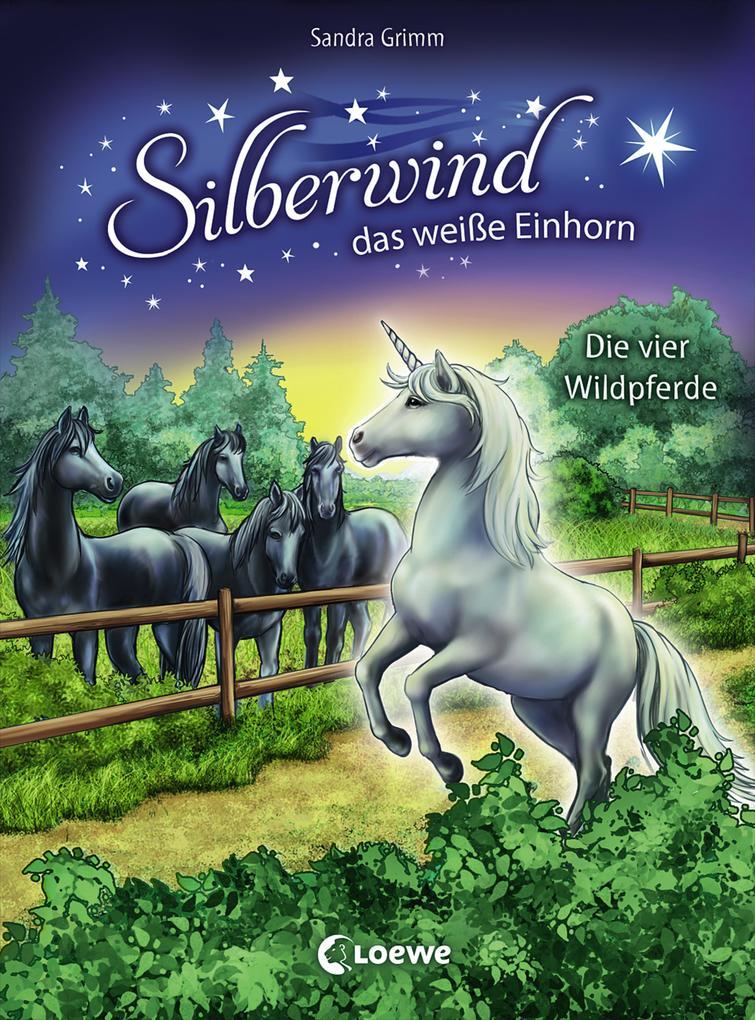 Silberwind, das weiße Einhorn - Die vier Wildpferde als Buch (gebunden)