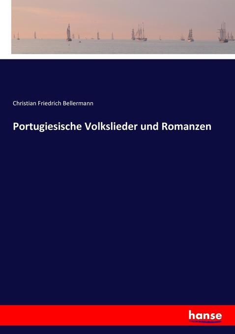 Portugiesische Volkslieder und Romanzen als Buch (kartoniert)