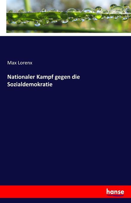 Nationaler Kampf gegen die Sozialdemokratie als Buch (kartoniert)
