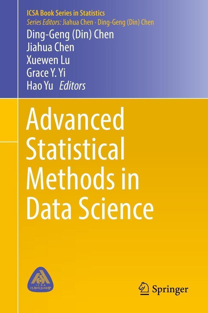Advanced Statistical Methods in Data Science als eBook pdf