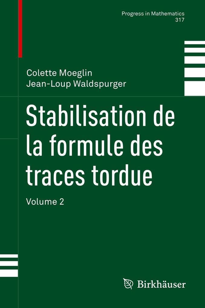 Stabilisation de la formule des traces tordue als eBook pdf