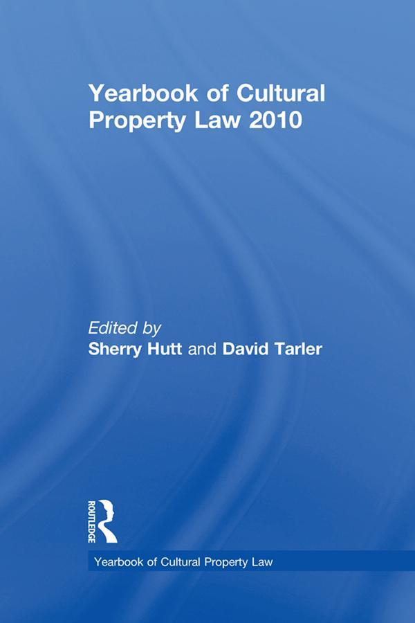 Yearbook of Cultural Property Law 2010 als eBook pdf