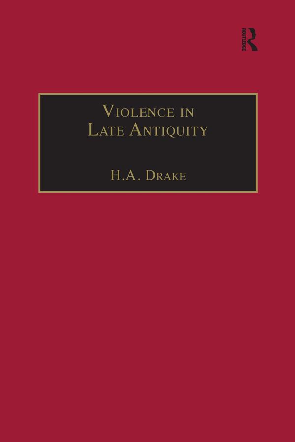 Violence in Late Antiquity als eBook pdf