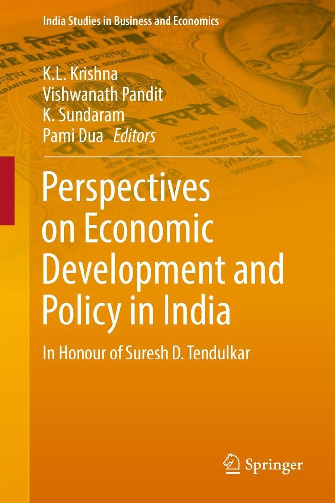 Perspectives on Economic Development and Policy in India als eBook pdf