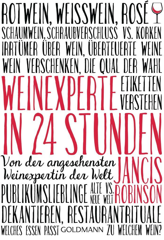 Weinexperte in 24 Stunden als eBook epub