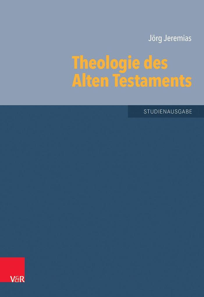 Theologie des Alten Testaments als Buch (kartoniert)