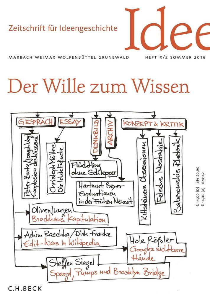 Zeitschrift für Ideengeschichte Heft X/2 Sommer 2016 als eBook pdf