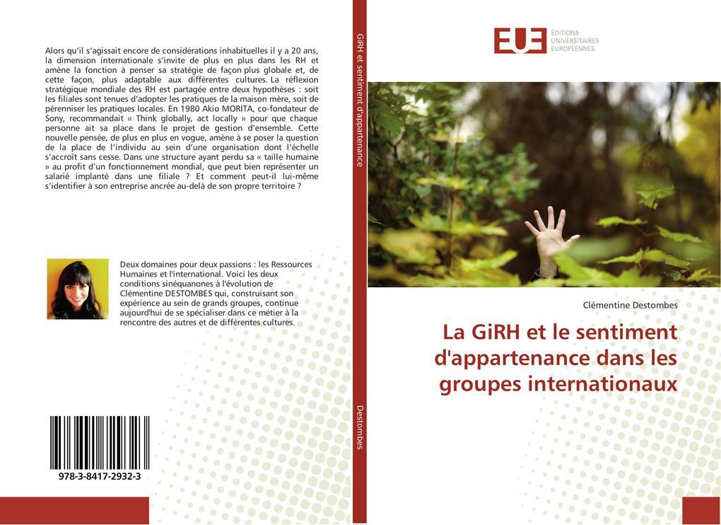 La GiRH et le sentiment d'appartenance dans les groupes internationaux als Buch (kartoniert)