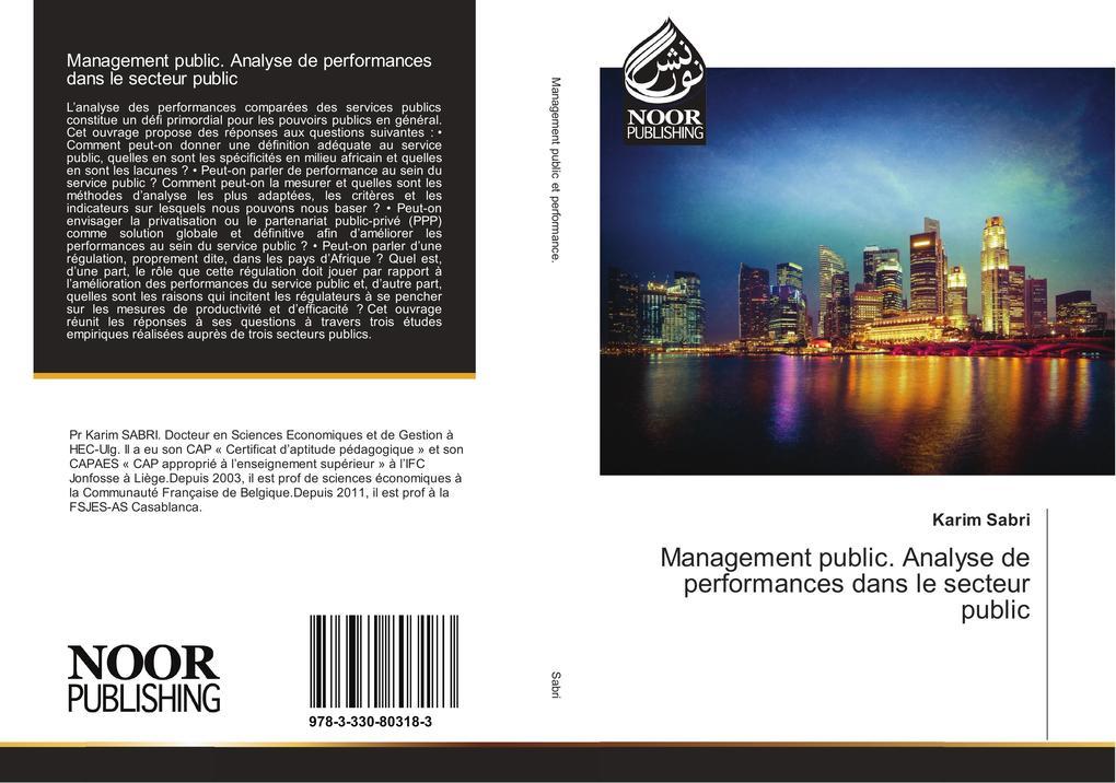Management public. Analyse de performances dans le secteur public als Buch (kartoniert)