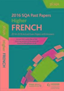 Higher French 2016-17 SQA Past Papers with Answers als Taschenbuch