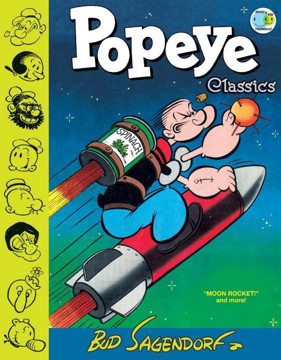 Popeye Classics, Vol. 10 Moon Rocket And More als Buch (gebunden)