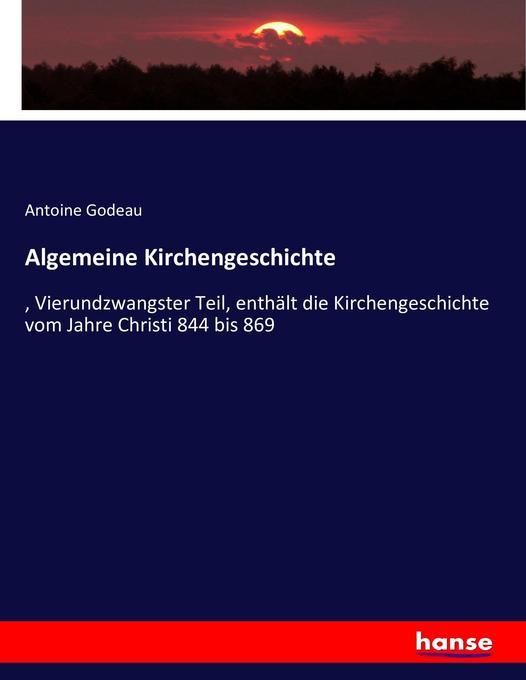 Algemeine Kirchengeschichte als Buch (kartoniert)