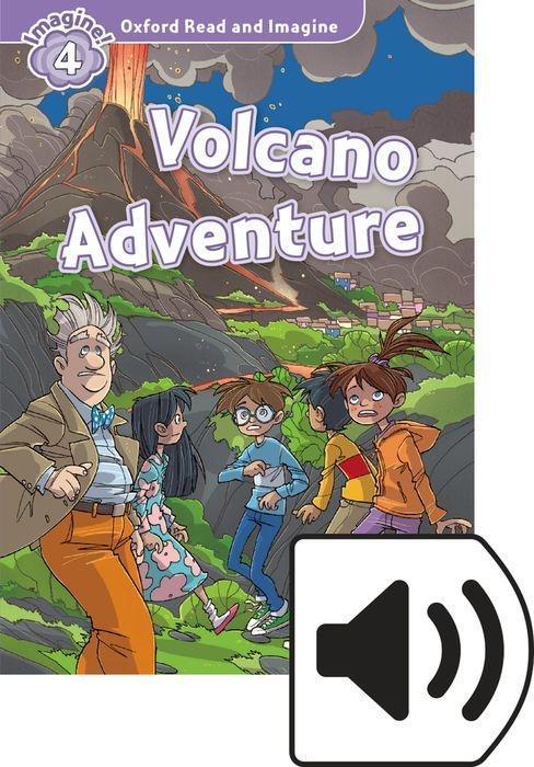 Oxford Read and Imagine: Level 4: Volcano Adventure Audio Pack als Buch (kartoniert)