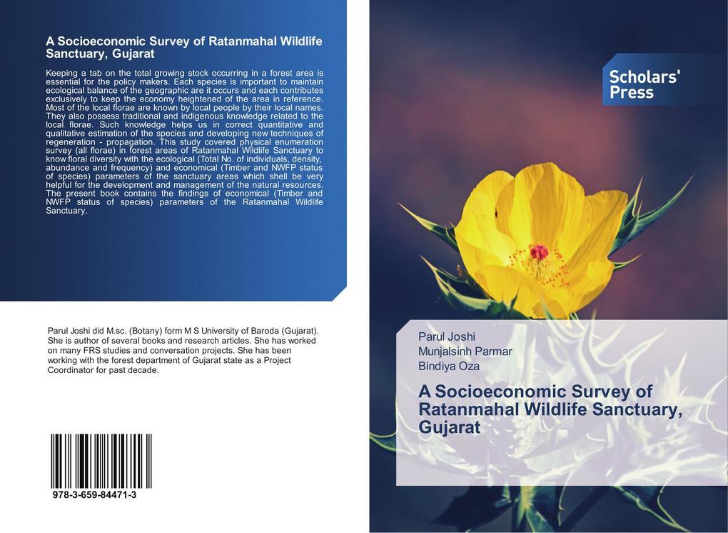 A Socioeconomic Survey of Ratanmahal Wildlife Sanctuary, Gujarat als Buch (kartoniert)