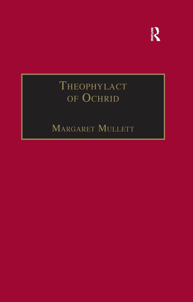 Theophylact of Ochrid als eBook epub