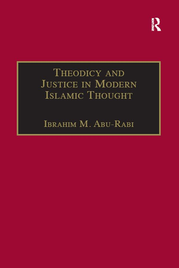 Theodicy and Justice in Modern Islamic Thought als eBook epub