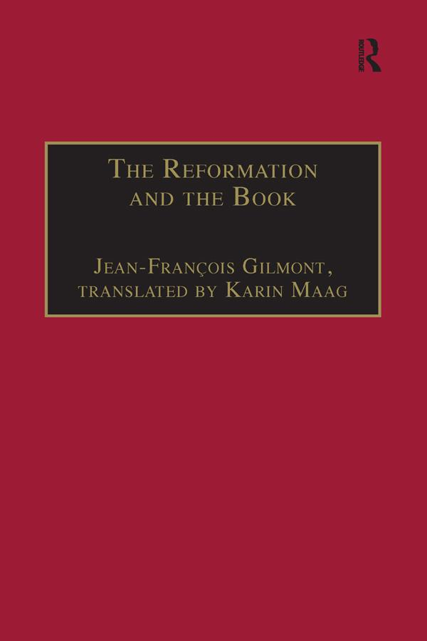 The Reformation and the Book als eBook epub
