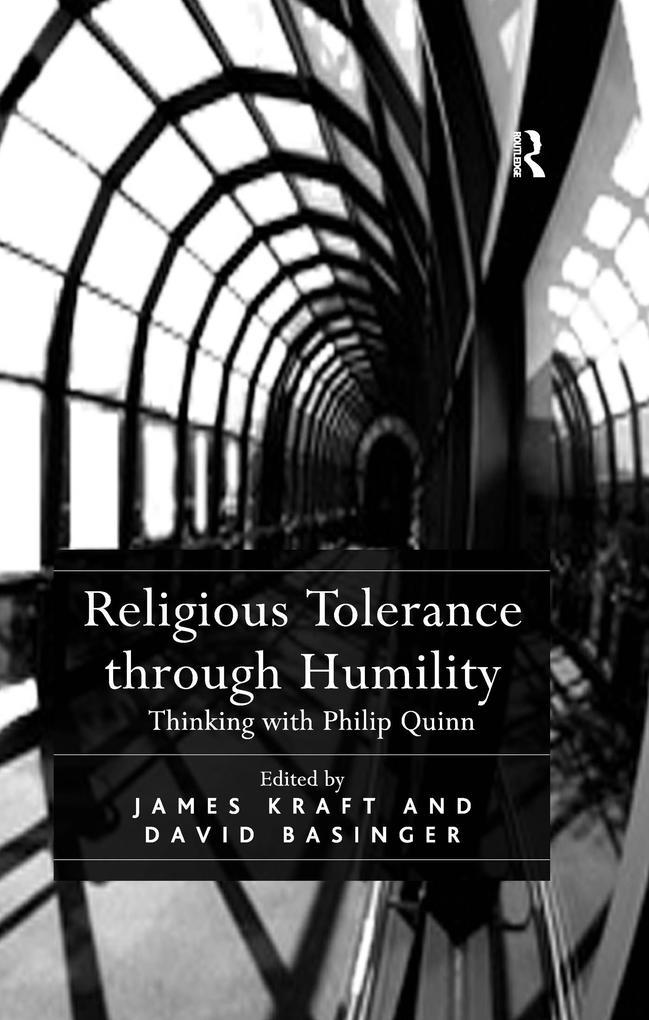 Religious Tolerance through Humility als eBook epub