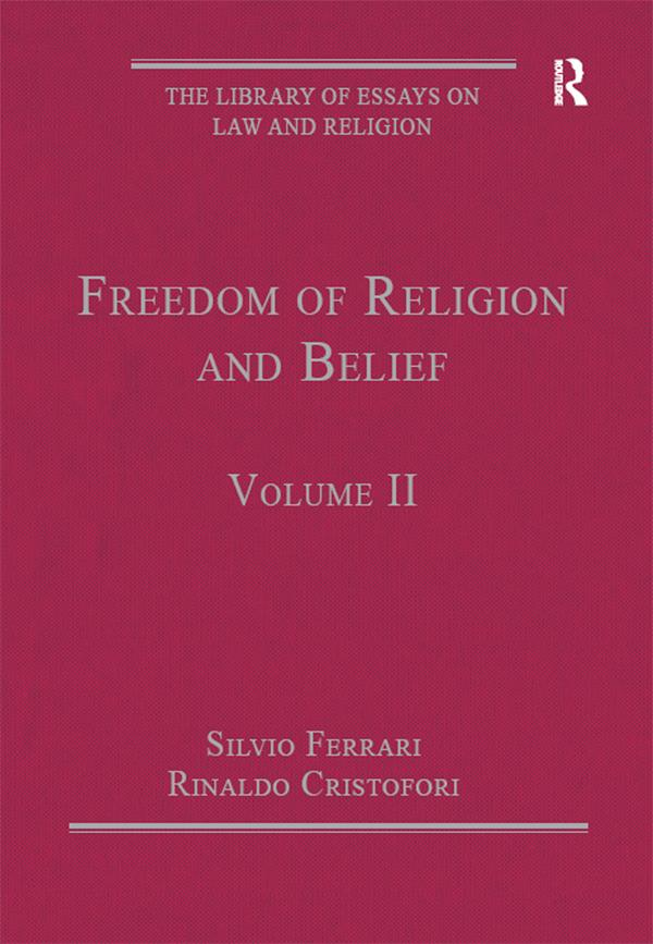 Freedom of Religion and Belief als eBook epub