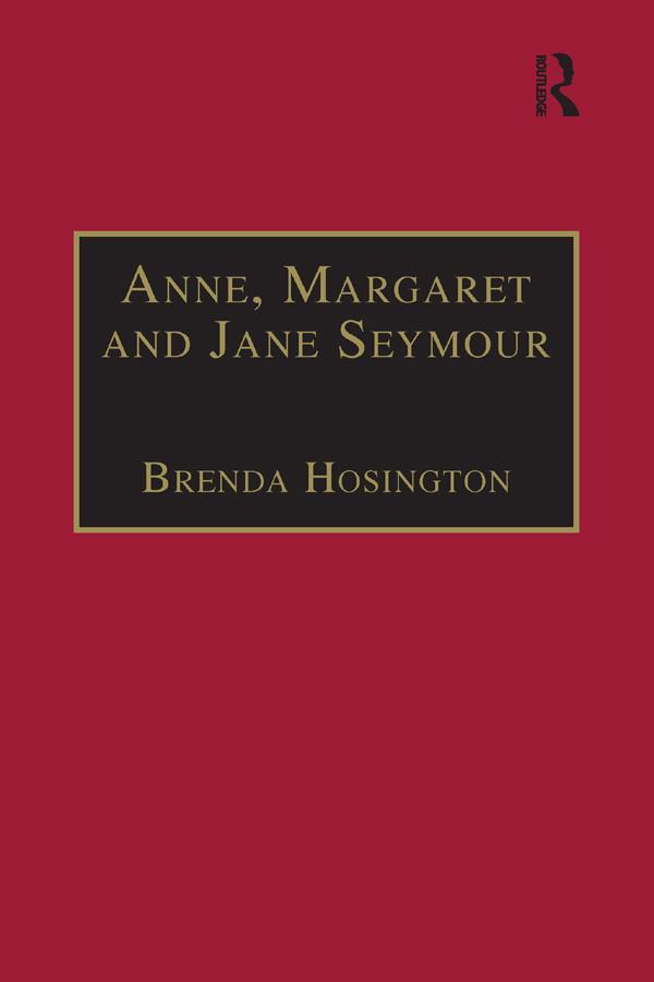Anne, Margaret and Jane Seymour als eBook epub