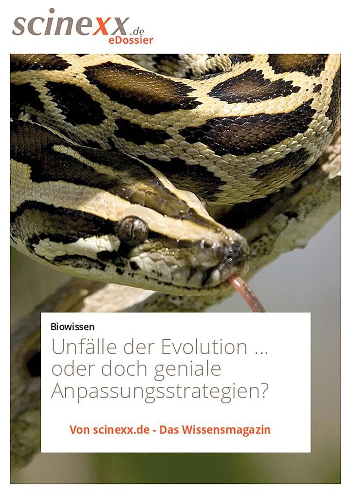Unfälle der Evolution als eBook epub