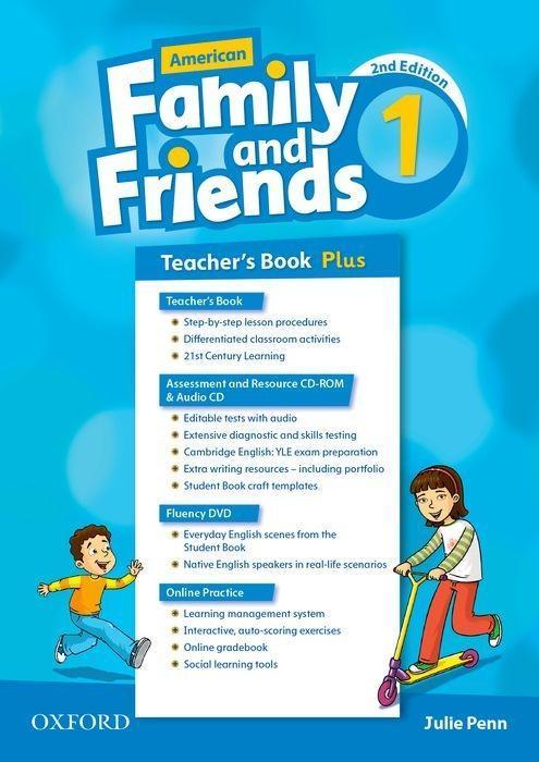 American Family and Friends 1. Teacher's Book Plus als Buch (kartoniert)