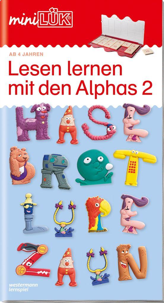 miniLÜK Lesen lernen mit den Alphas 2 als Buch (geheftet)