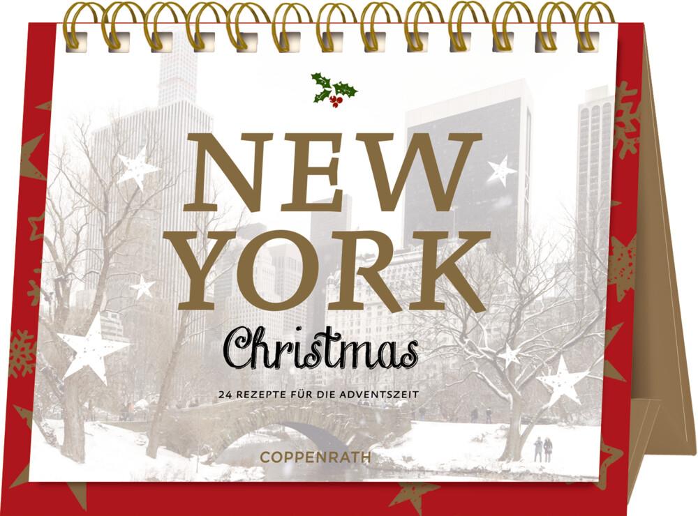 Advents-Aufstellkalender - New York Christmas als Kalender