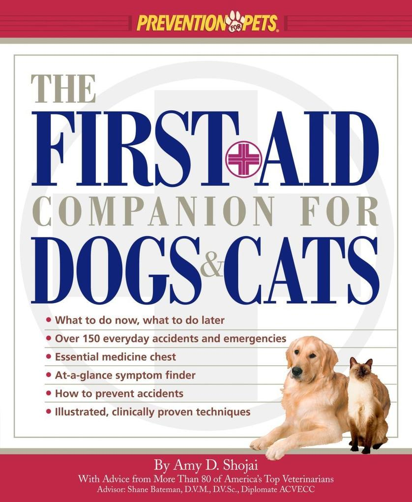 The First-Aid Companion for Dogs & Cats als eBook epub