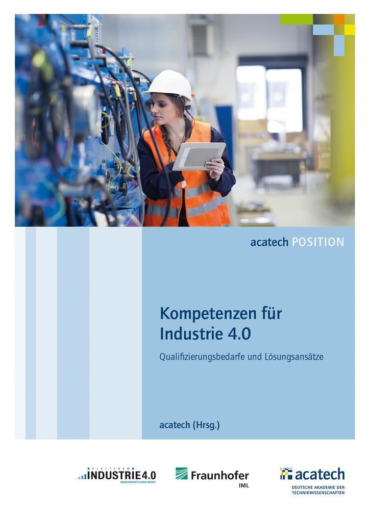 Kompetenzen für die Industrie 4.0 als eBook pdf