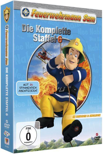 Die Komplette 6.Staffel (5 DVDs) als DVD
