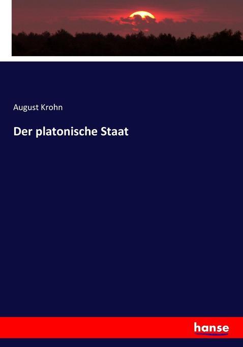 Der platonische Staat als Buch (kartoniert)