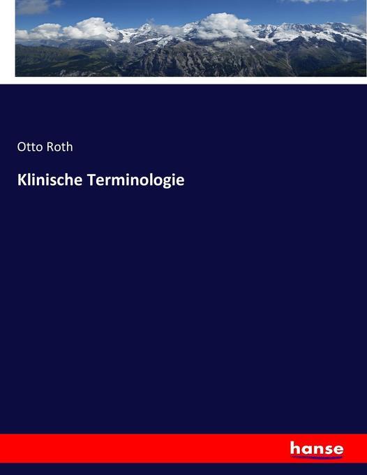 Klinische Terminologie als Buch (kartoniert)