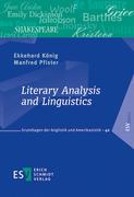 Literary Analysis and Linguistics