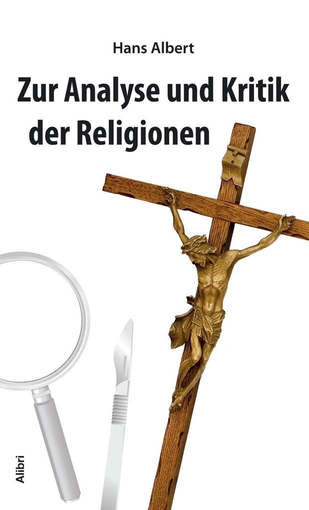 Analyse und Kritik der Religion als Buch (kartoniert)