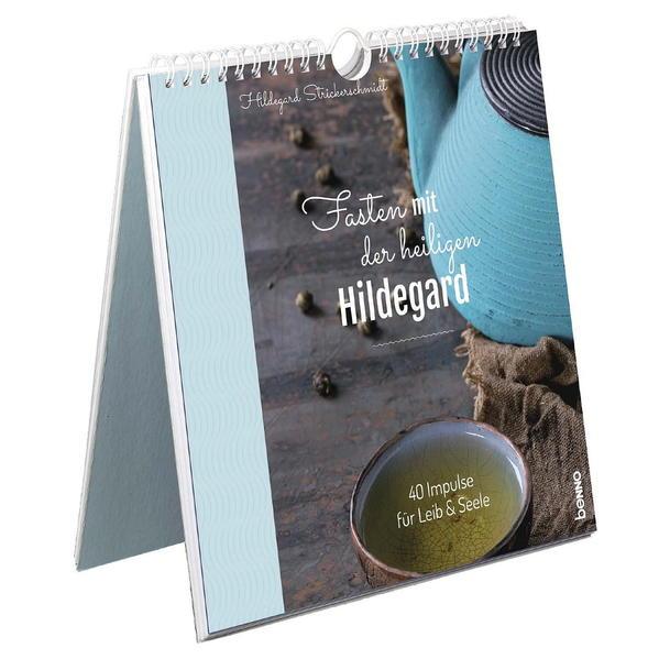 Fasten mit der heiligen Hildegard als Kalender
