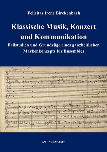 Klassische Musik, Konzert und Kommunikation als Buch (kartoniert)