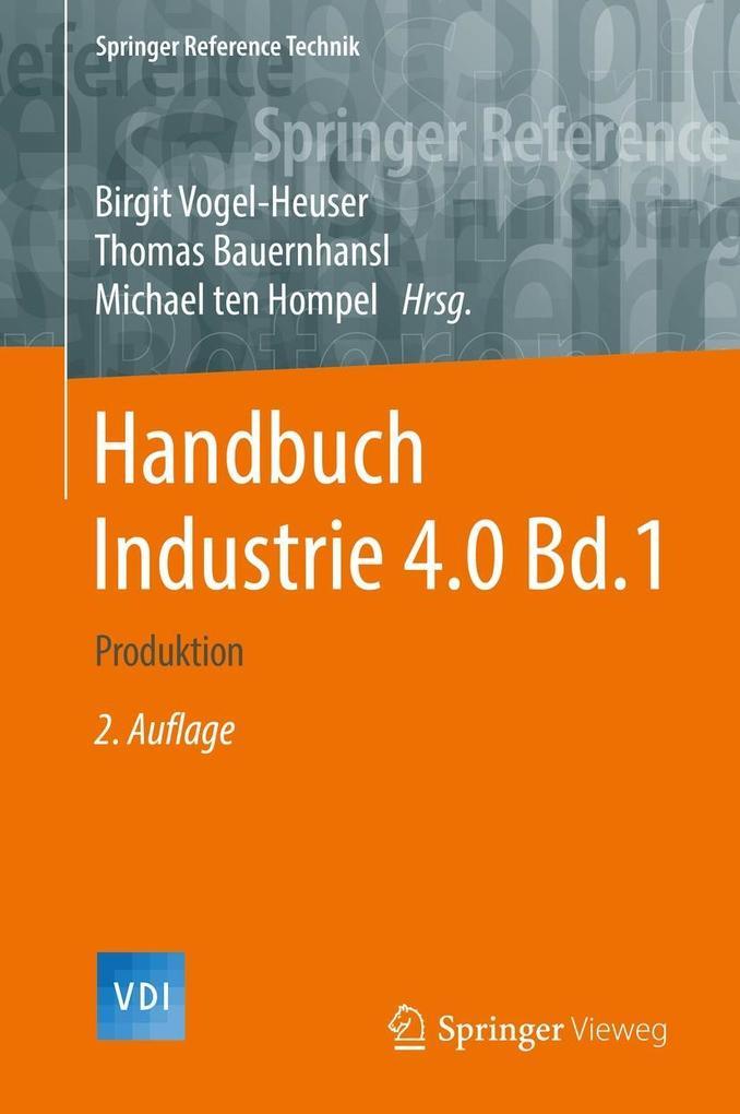 Handbuch Industrie 4.0 Bd.1 als eBook pdf