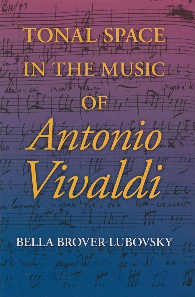 Tonal Space in the Music of Antonio Vivaldi als eBook epub