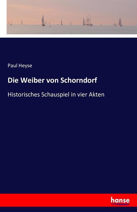 Die Weiber von Schorndorf als Buch (kartoniert)