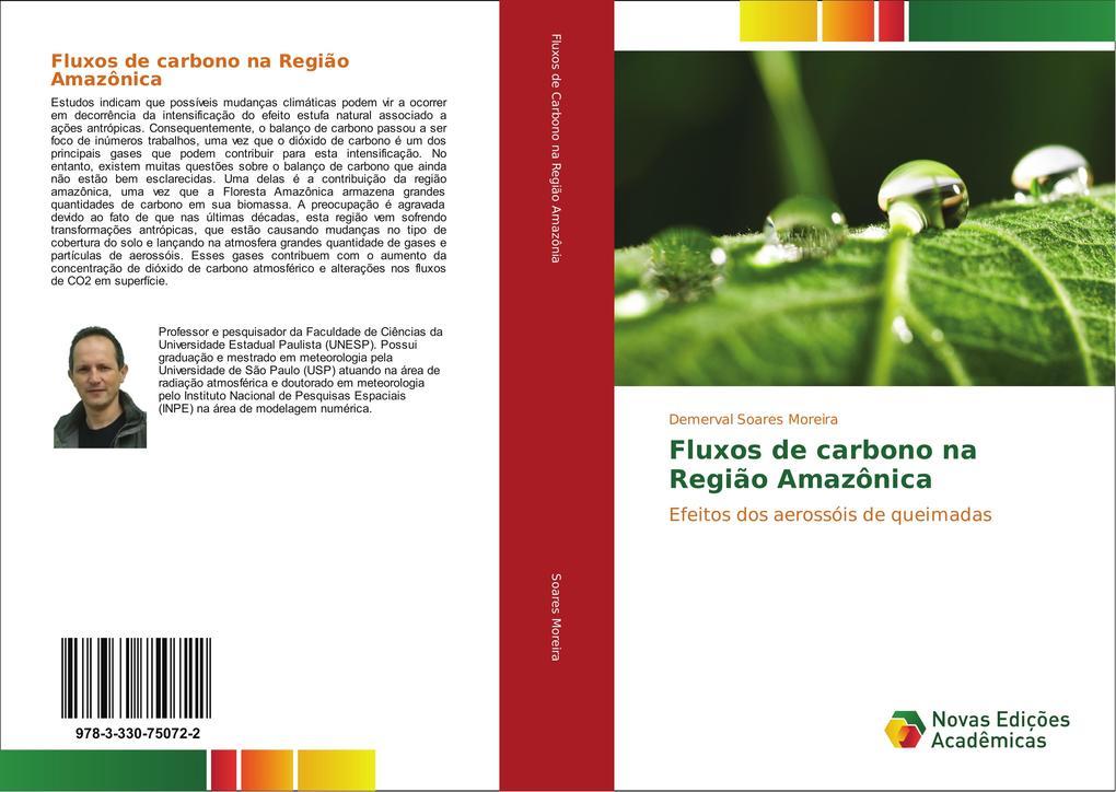 Fluxos de carbono na Região Amazônica als Buch (kartoniert)