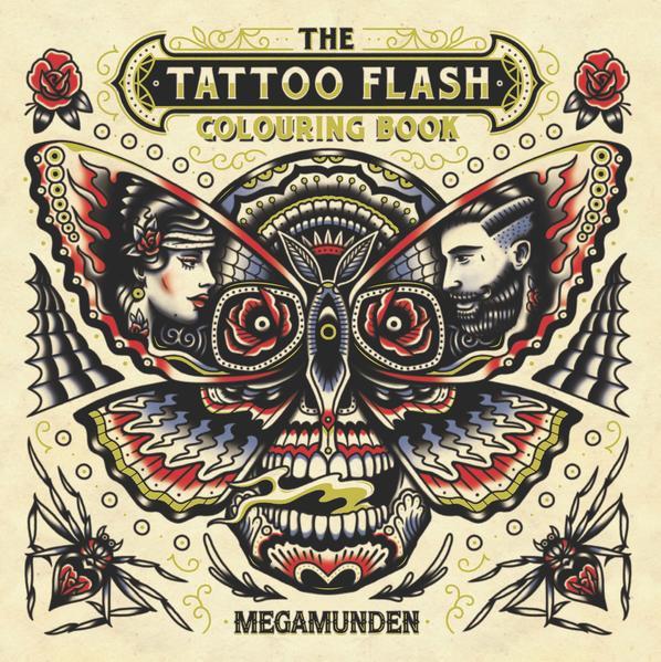 The Tattoo Flash Colouring Book als Buch (kartoniert)