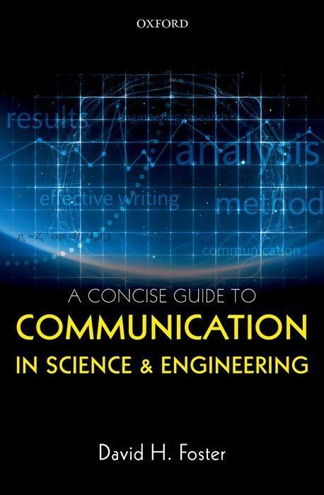 A Concise Guide to Communication in Science and Engineering als Taschenbuch