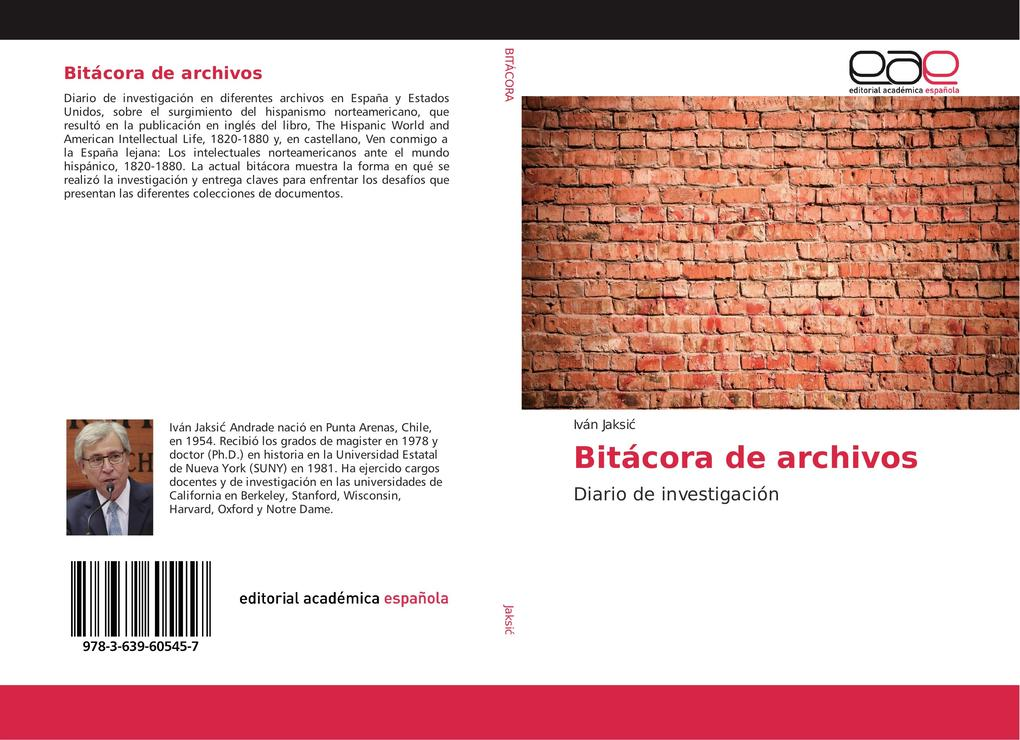 Bitácora de archivos als Buch (kartoniert)