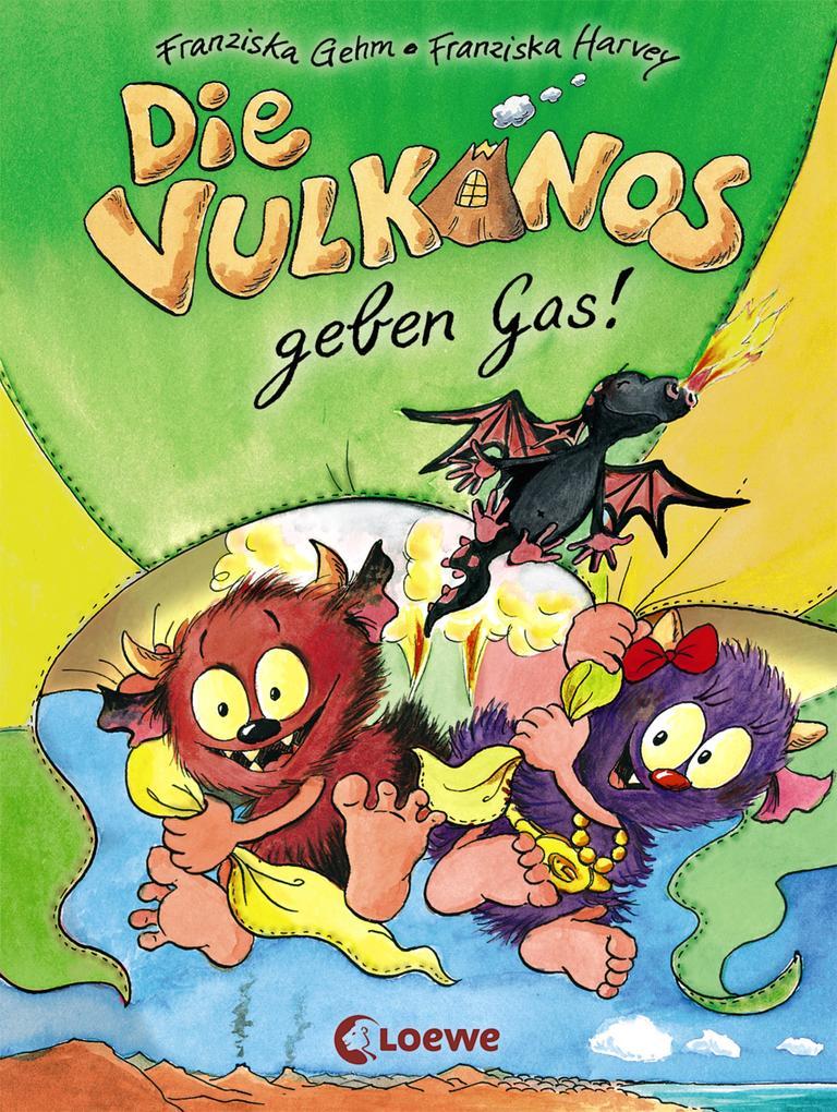 Die Vulkanos geben Gas! als eBook epub